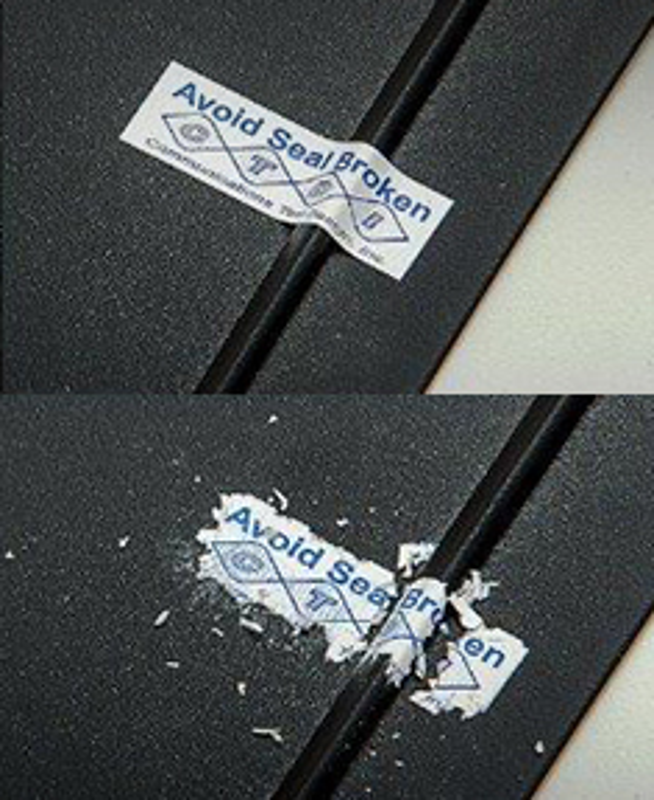 Etiquetas de Segurança