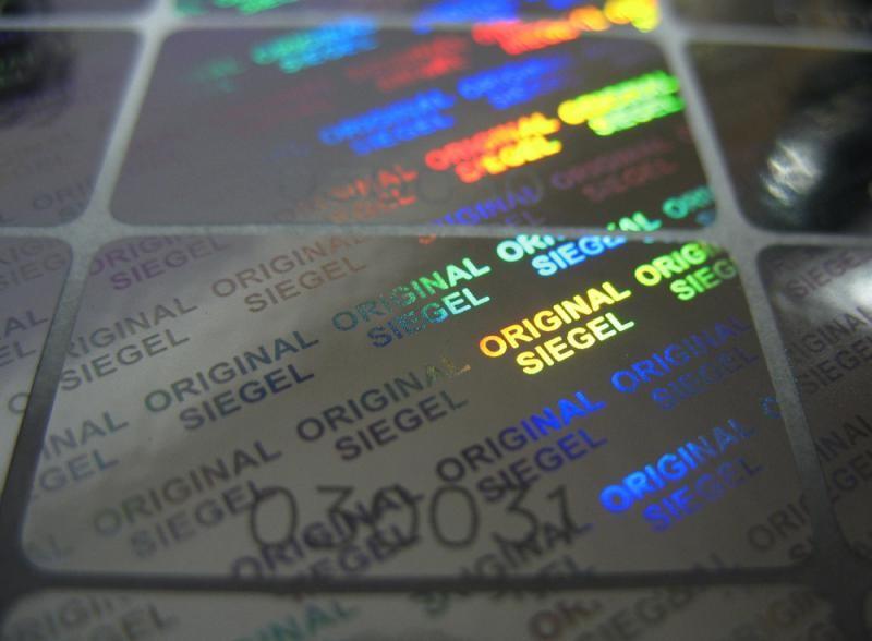 Empresa de selo holografico