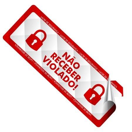 Etiqueta de segurança preço personalizada