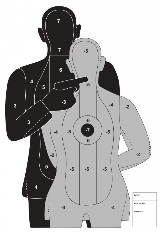 Fabrica de alvos de tiro
